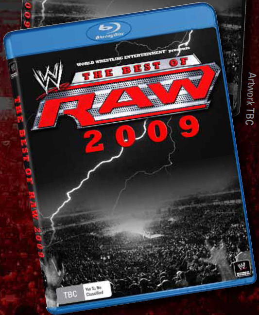 WWE Raw: The Best of 2009 (2 Disc Set) on Blu-ray