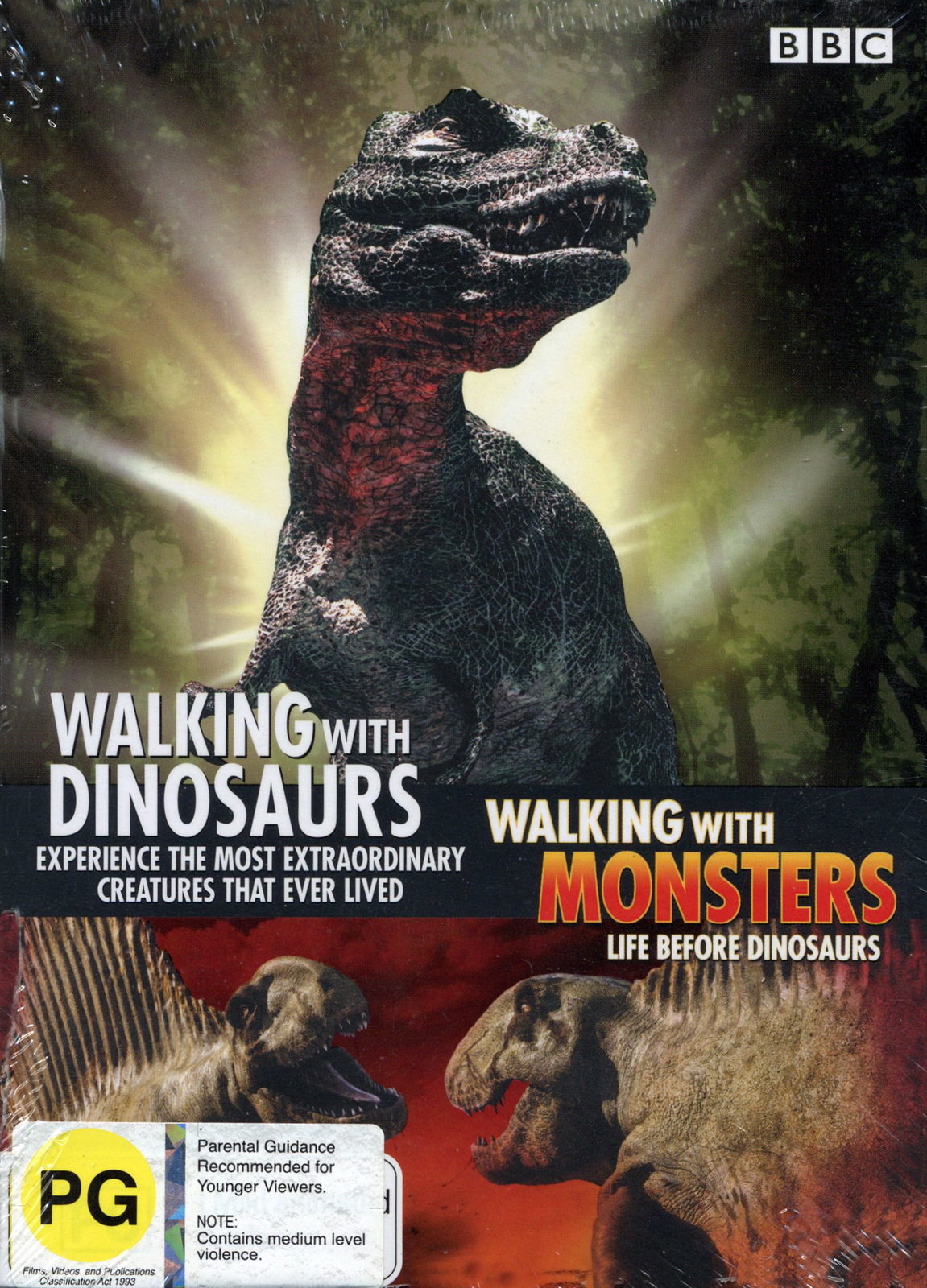 Walking With Dinosaurs / Walking With Monsters on DVD image
