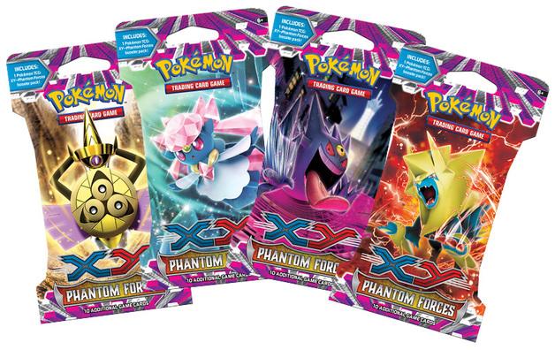 Pokemon TCG Phantom Forces Blister Pack