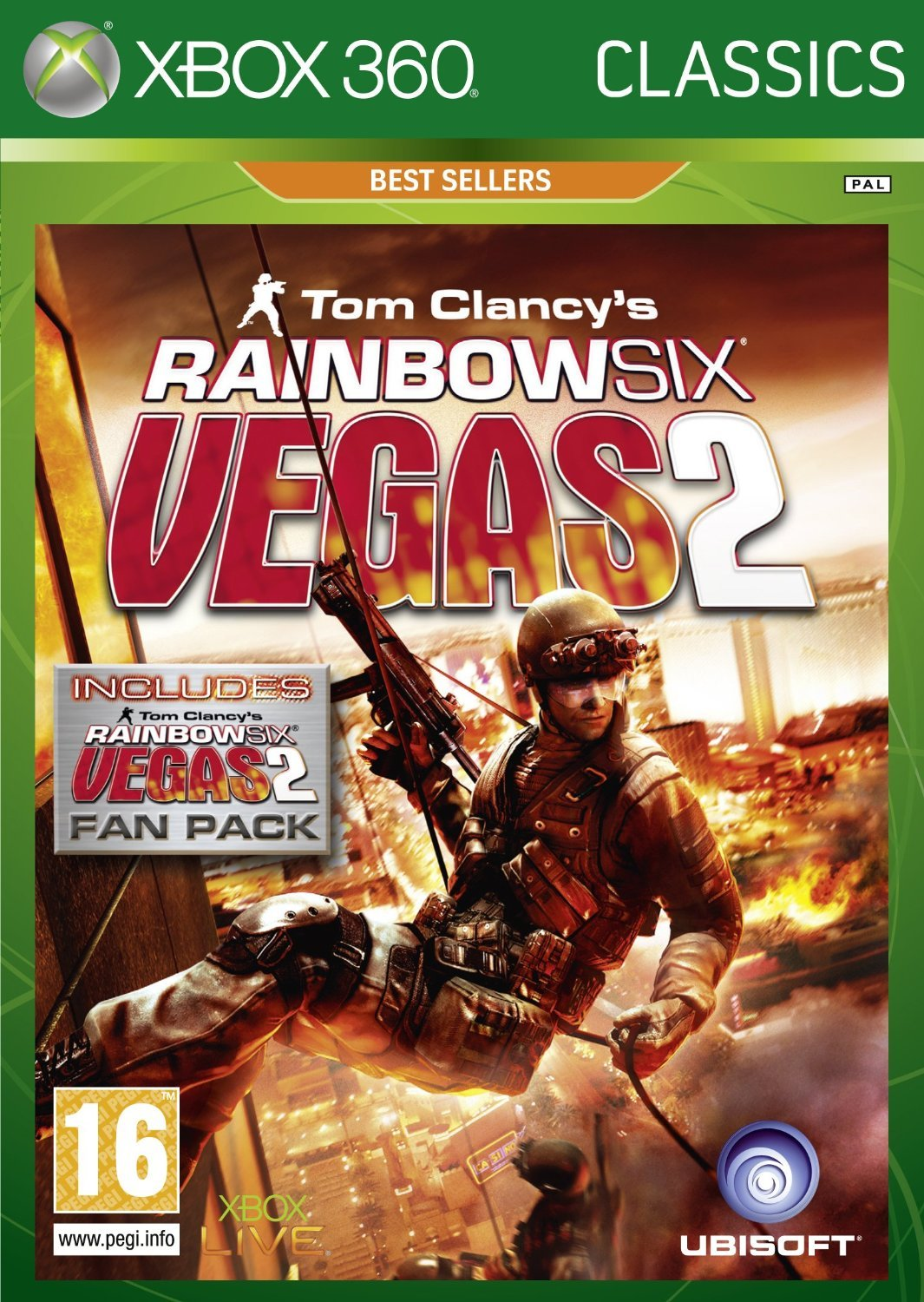 Tom Clancy's Rainbow Six: Vegas 2 Complete Edition (Classic) for Xbox 360 image
