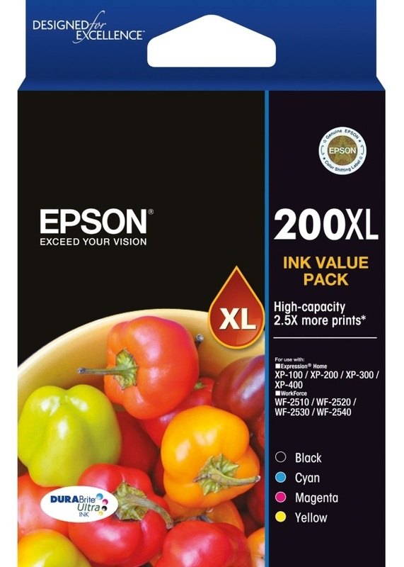 Epson Ink Cartridge - 200XL (Value Pack)