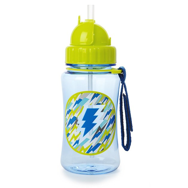 Skip Hop: Forget Me Not Straw Bottle - Lightning