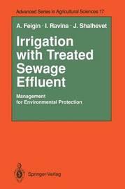 Irrigation with Treated Sewage Effluent by Amos Feigin