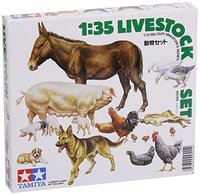 Tamiya 1/35 Livestock Diorama Model Set