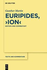 """Euripides, """"Ion"""" by Gunther Martin"""