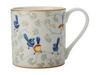 Maxwell & Williams: Cashmere Wrens & Friends Mug - Splendid Fairy & White-Winged Fairy Wren (350ml)