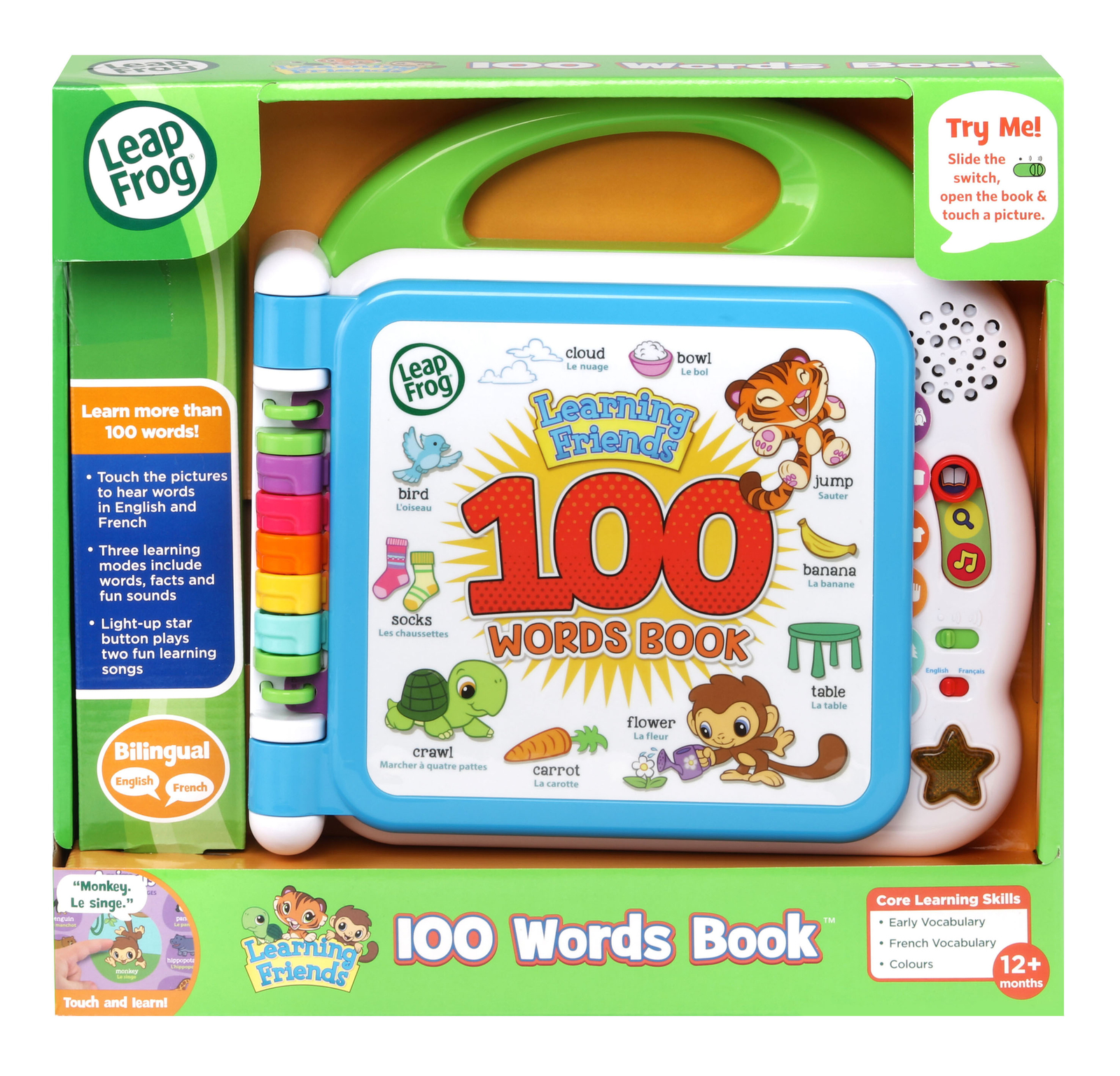 Leapfrog: Learning Friends - 100 Words Book image