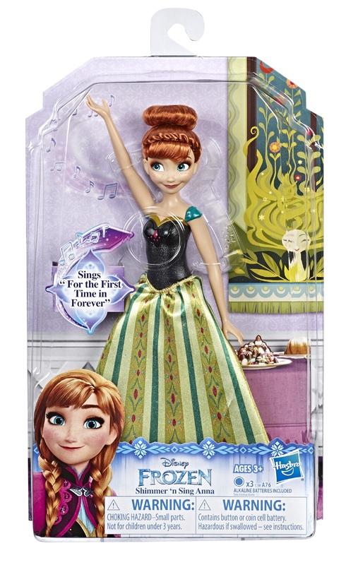 Frozen: Singing Anna - Fashion Doll