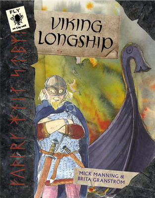 Viking Longship by Mick Manning image