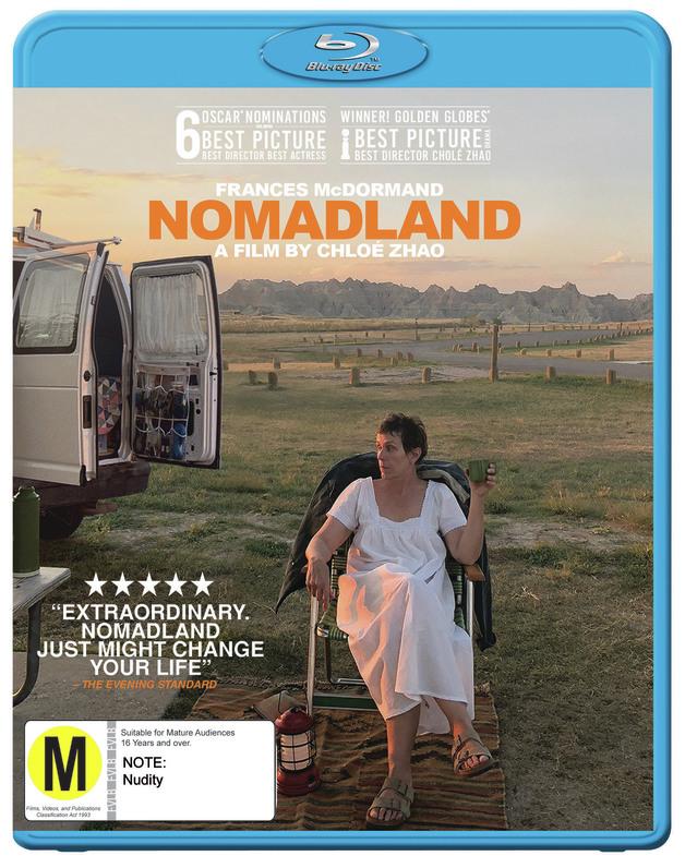 Nomadland on Blu-ray