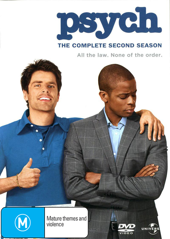 Psych - The Complete 2nd Season on DVD