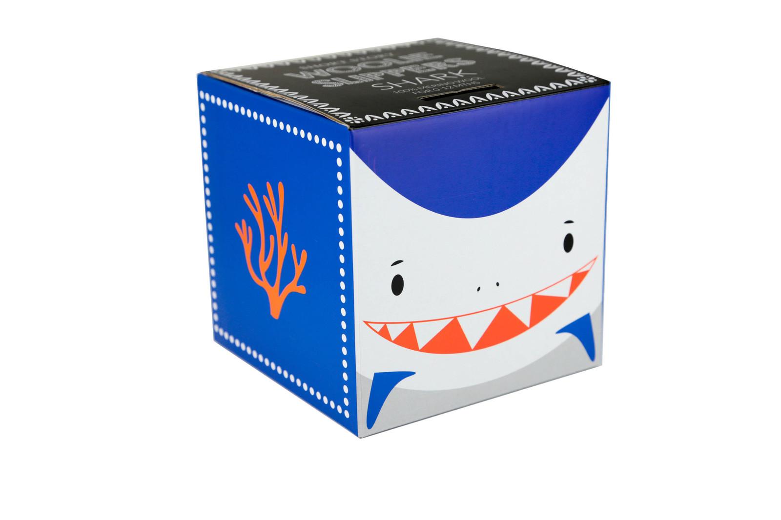 Woolie Slippers - Shark image