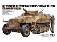 Tamiya 1/35 German Sdkfz 251/9 Kannwgn - Model Kit