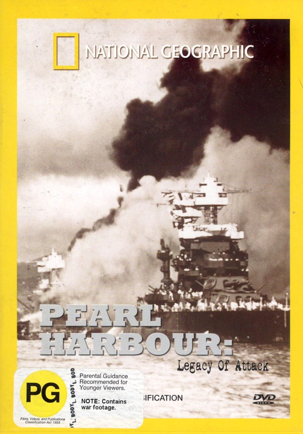 National Geographic - Pearl Harbour - Legacy Of Attack on DVD image