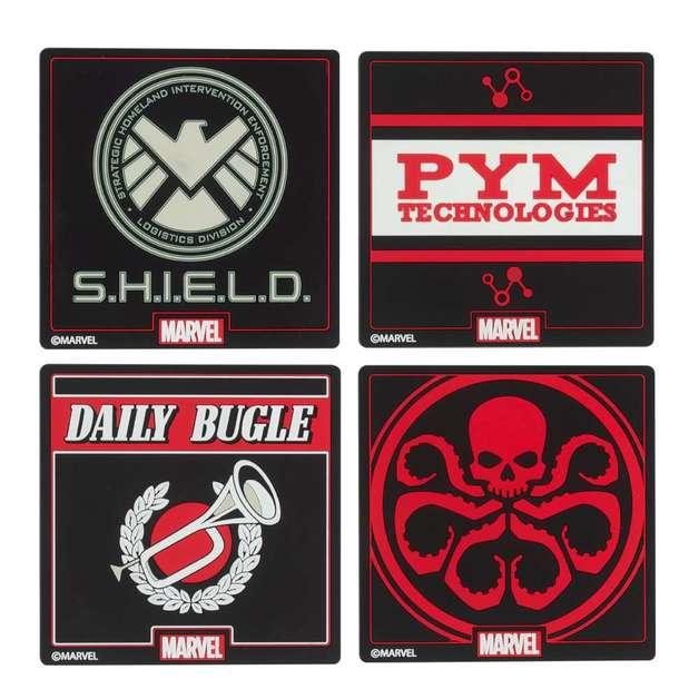 Marvel: Official Coaster Set - (4 Pack)
