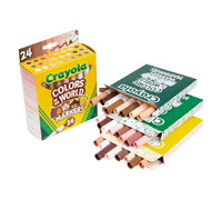 Crayola: Colors of the World Markers - (24 Piece)