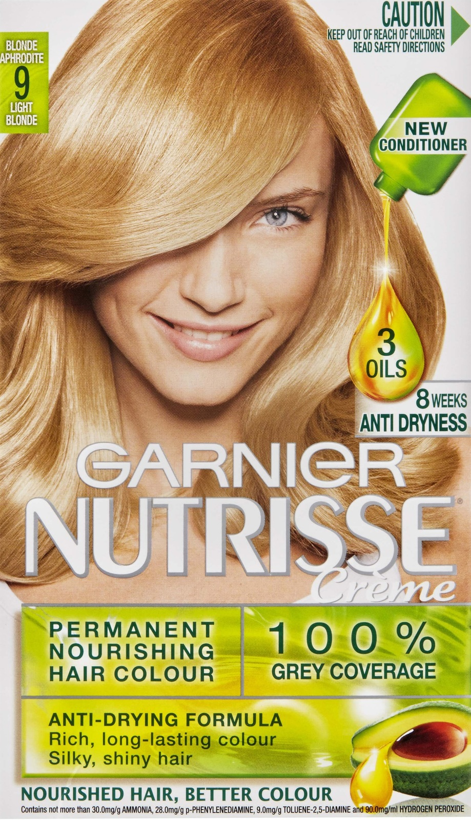 Buy Garnier Nutrisse Hair Colour 90 Blonde Aphrodite At Mighty Ape Nz