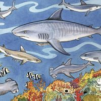 Ravensburger : Sea of Sharks Puzzle 60pc