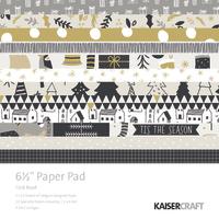"""Kaisercraft: 6.5"""" Paper Pad - First Noel"""