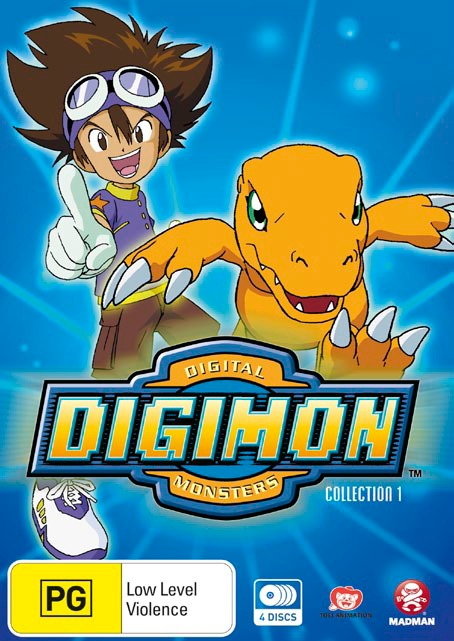 Digimon Digital Monsters (1999) Collection - Episodes 1-27 on DVD image