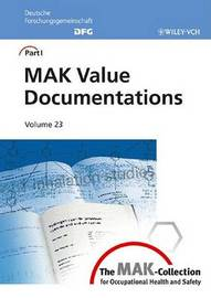 The MAK-Collection for Occupational Health and Safety: MAK Value Documentations (Dfg) image