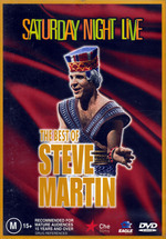 Saturday Night Live - The Best Of Steve Martin on DVD
