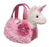 Aurora Fancy Pals Pet Carrier - Plush Unicorn