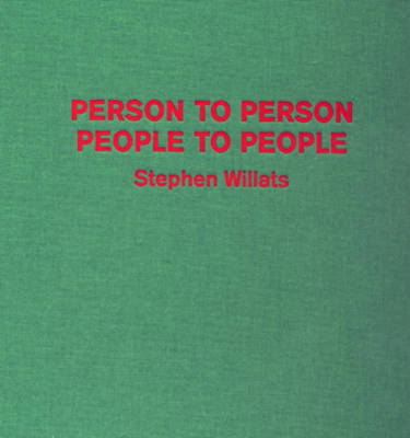 Person to Person, People to People by Chris Hammond