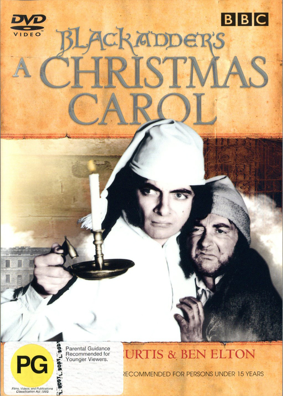 Blackadder's A Christmas Carol on DVD