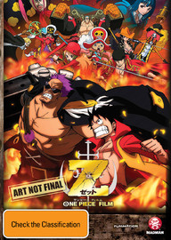 One Piece Film: Z on DVD