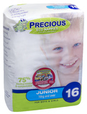 Precious: Eco Nappies - Junior (16 Pack)