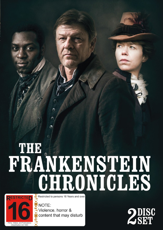 The Frankenstein Chronicles on DVD
