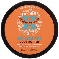 Happy Naturals Argan Oil Body Butter (200ml)