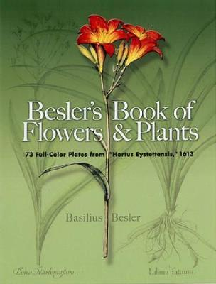 Besler's Book of Flowers and Plants by Basilius Besler