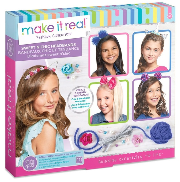 Make It Real: Sweet N'chic Headbands - Fashion Kit