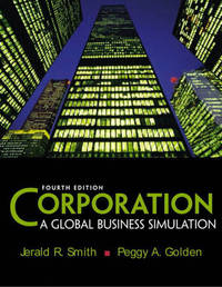 Corporation: A Global Business Simulation by Jerald R. Smith image