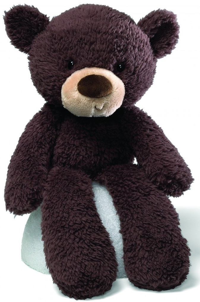 Gund: Fuzzy Chocolate Bear image