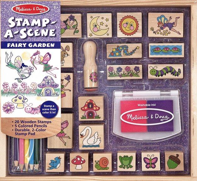 Melissa & Doug: Stamp-a-Scene Fairy Garden