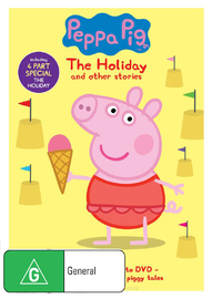 Peppa Pig: The Holiday on DVD image
