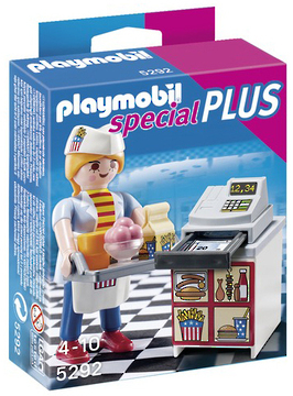 Playmobil Special Plus - Waitress with Cash Register (5292)