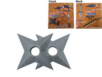 Naruto: Ninja Stars - Rubber Replica 2-Pack