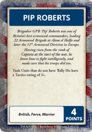 Flames of War: Desert Rats - Command Cards image