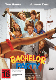 Bachelor Party on DVD image