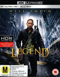 I Am Legend on Blu-ray, UHD Blu-ray