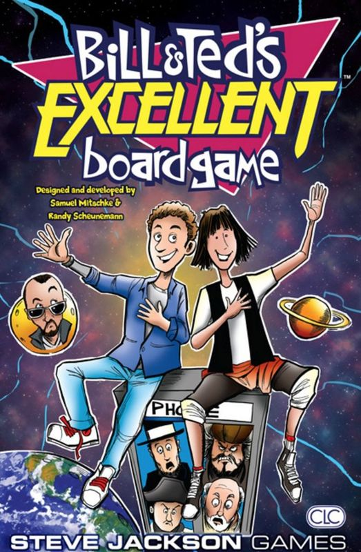 Bill and Teds - Excellent Boardgame