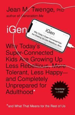 iGen by Jean M Twenge image