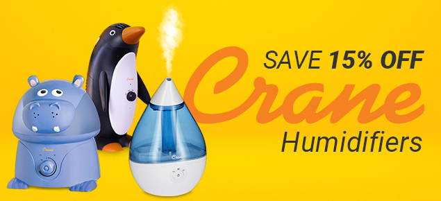 15% off Crane Humidifiers