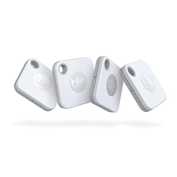 Tile Mate Bluetooth Tracker (4 Pack)