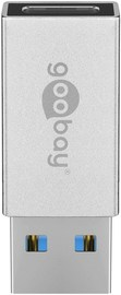 Goobay: USB-C to USB-A Hi-Speed Cable Adapter - White