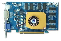 Albatron Video Card PC6600 128MB DDR TV OUT, PCI-EXPRESS image